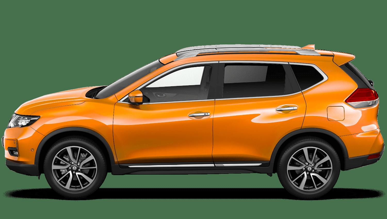 Monarch Orange Nissan X Trail