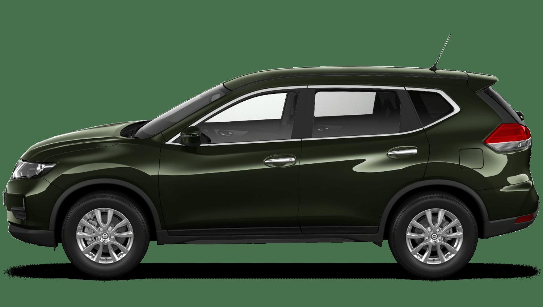 Titanium Olive Nissan X Trail