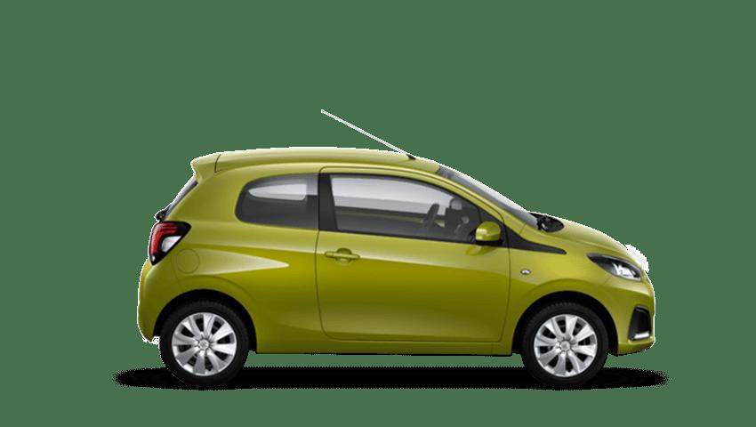 Green Fizz Peugeot 108
