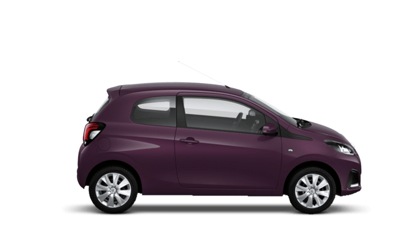 Purple Berry Peugeot 108