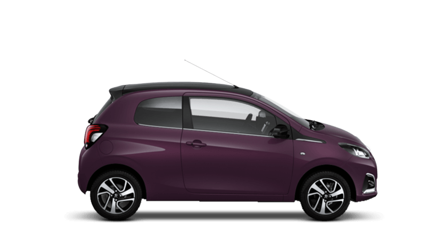 Purple Berry Peugeot 108