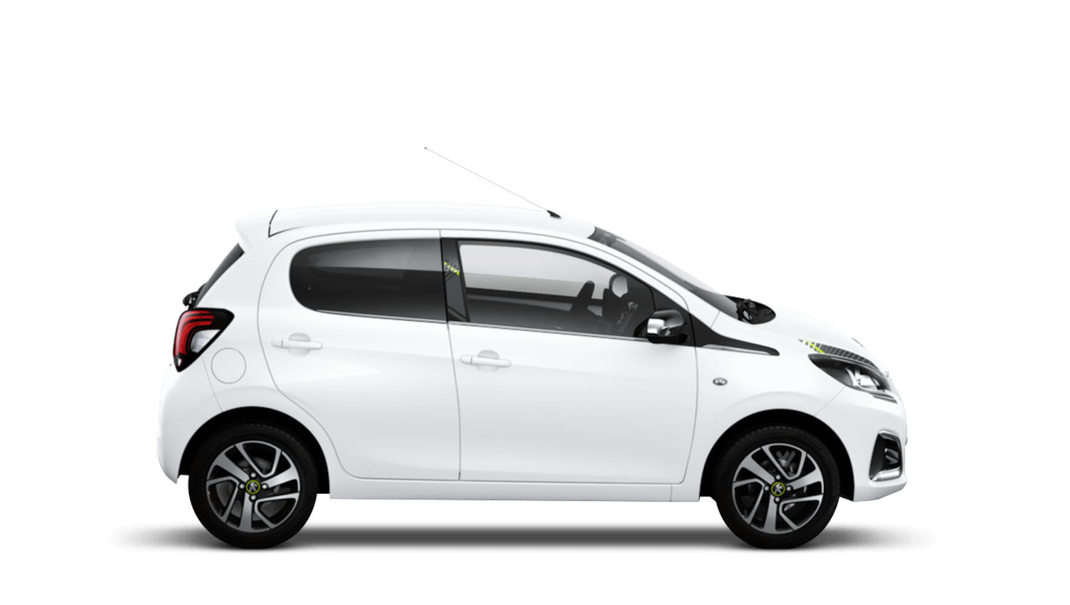 Diamond White Peugeot 108