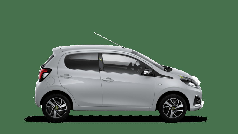 Zircon Grey Peugeot 108