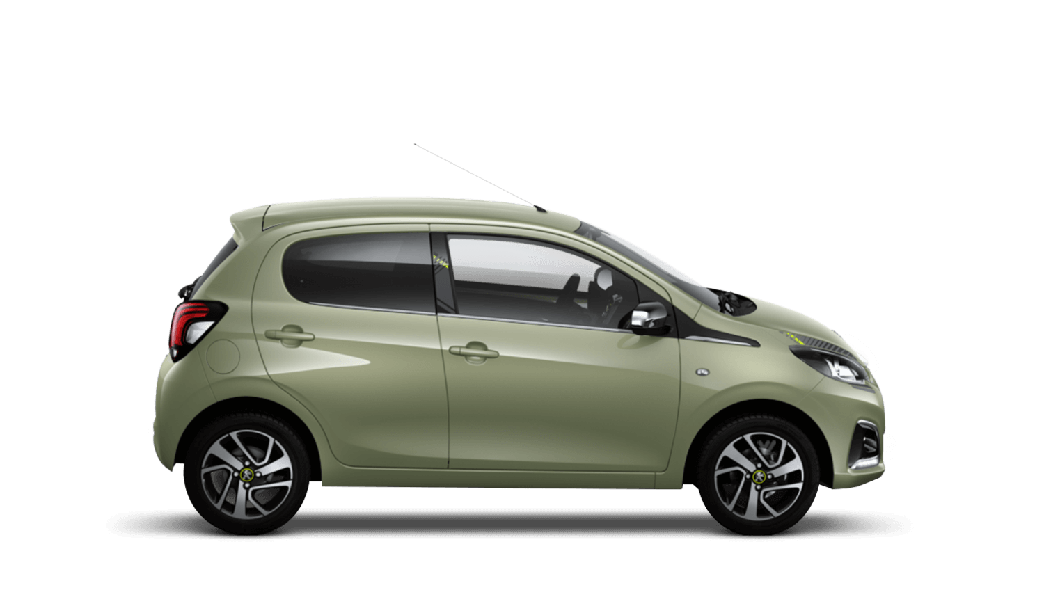 Smooth Green Peugeot 108