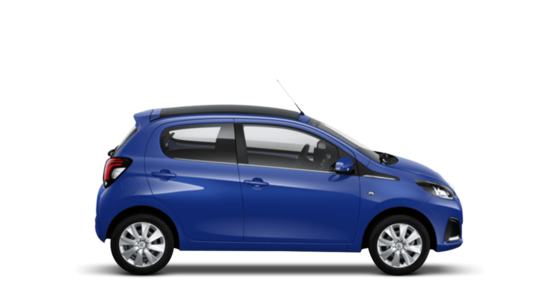 Calvi Blue Peugeot 108 Top