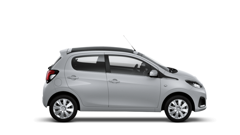 Zircon Grey Peugeot 108 Top