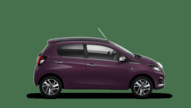 Purple Berry Peugeot 108 Top