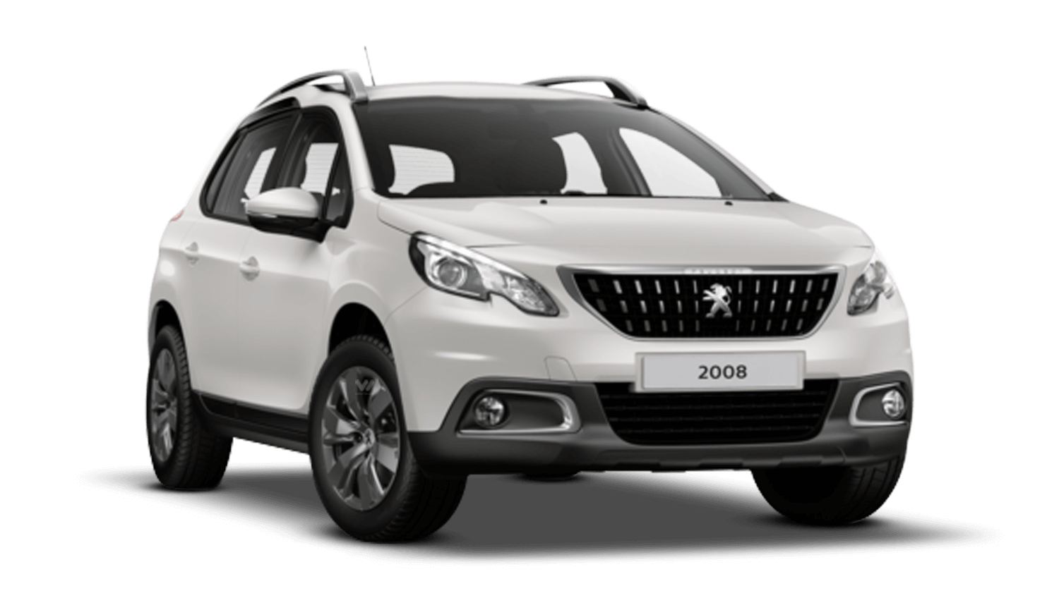 Pearlescent White Peugeot 2008 Suv