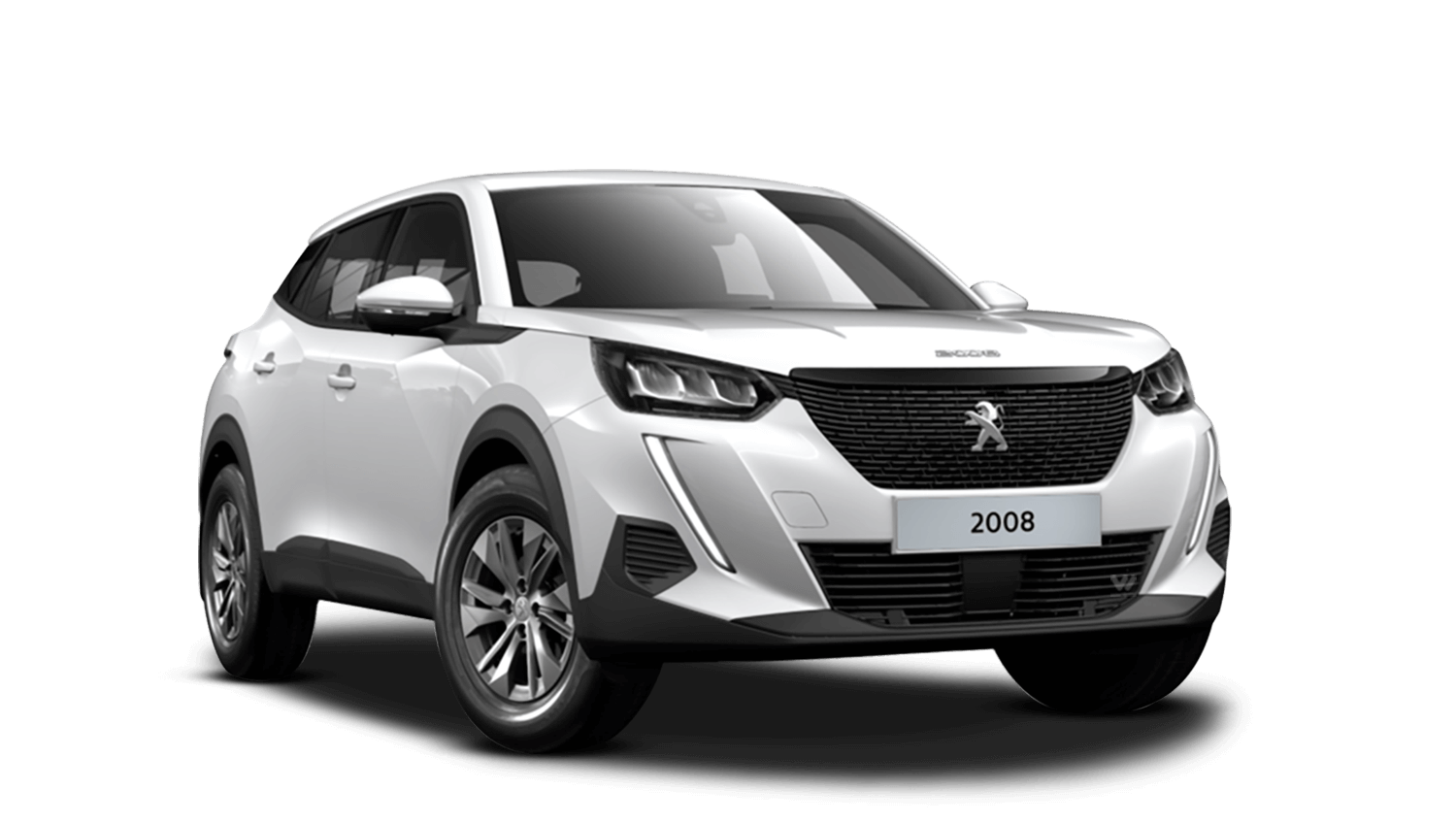 Bianca White All-new Peugeot 2008 SUV