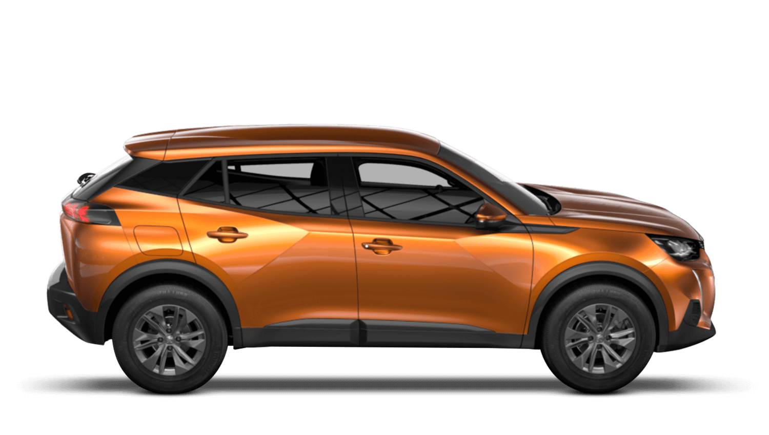 Orange Fusion All-new Peugeot 2008 SUV