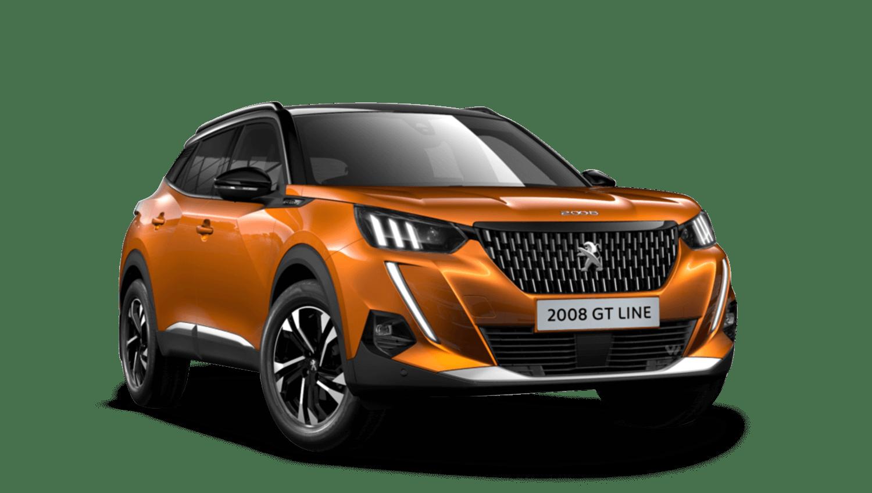 Orange Fusion All-new Peugeot 2008 SUV