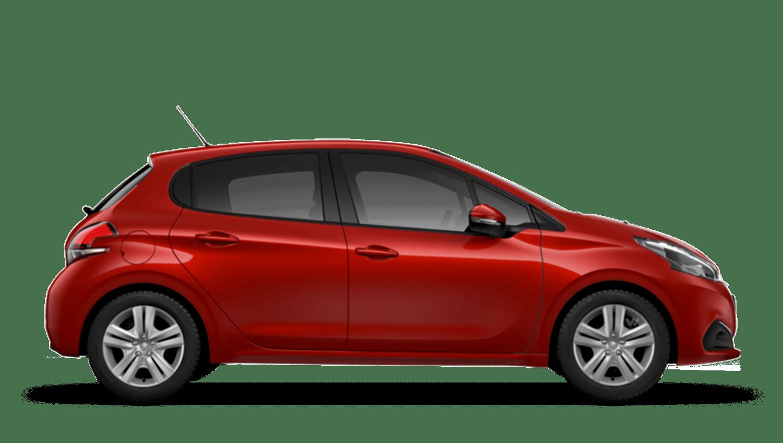Rioja Red Peugeot 208