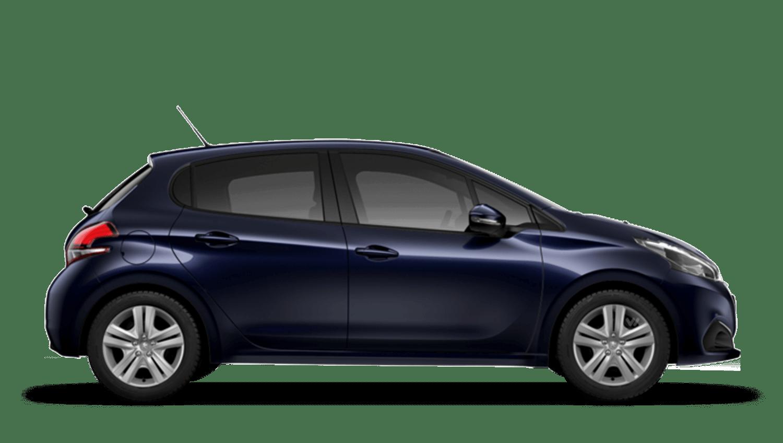 Twilight Blue Peugeot 208