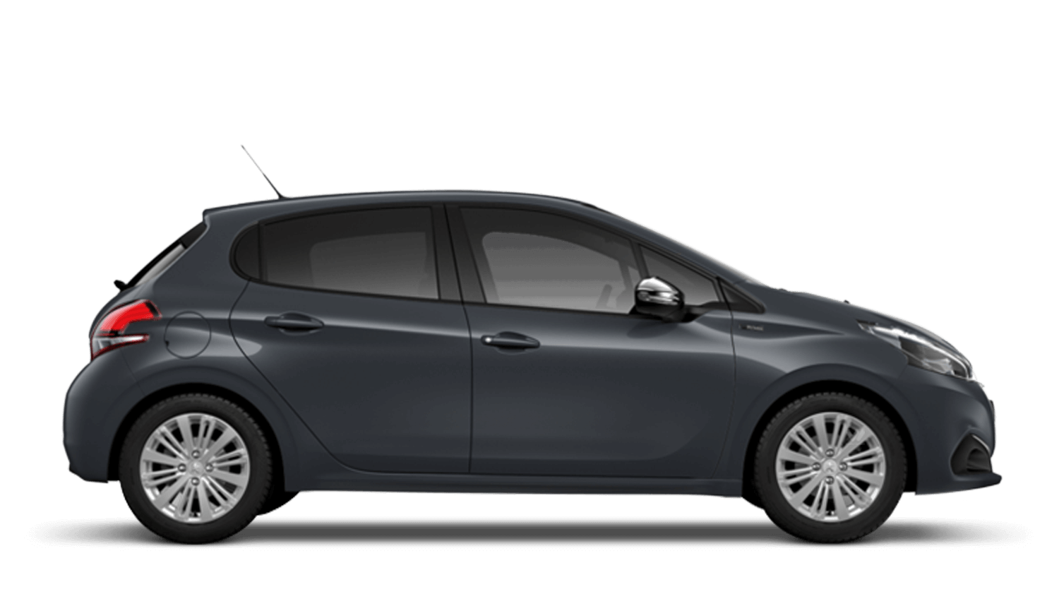 Hurricane Grey Peugeot 208