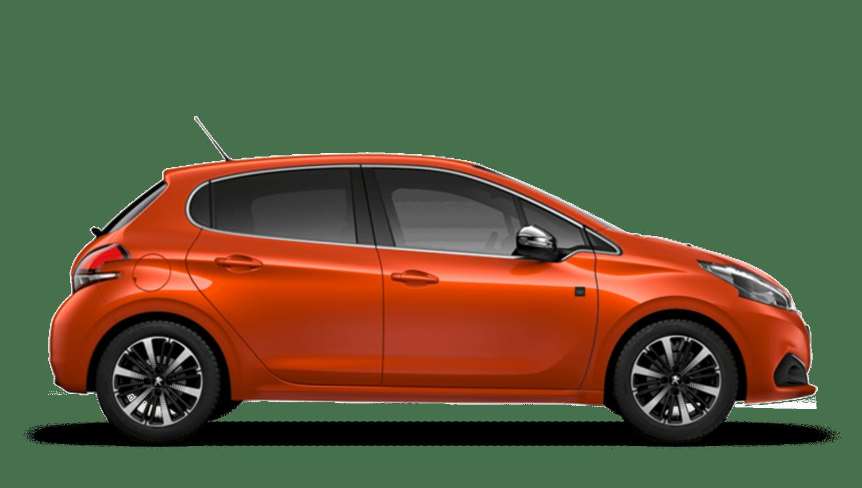 Orange Power Peugeot 208