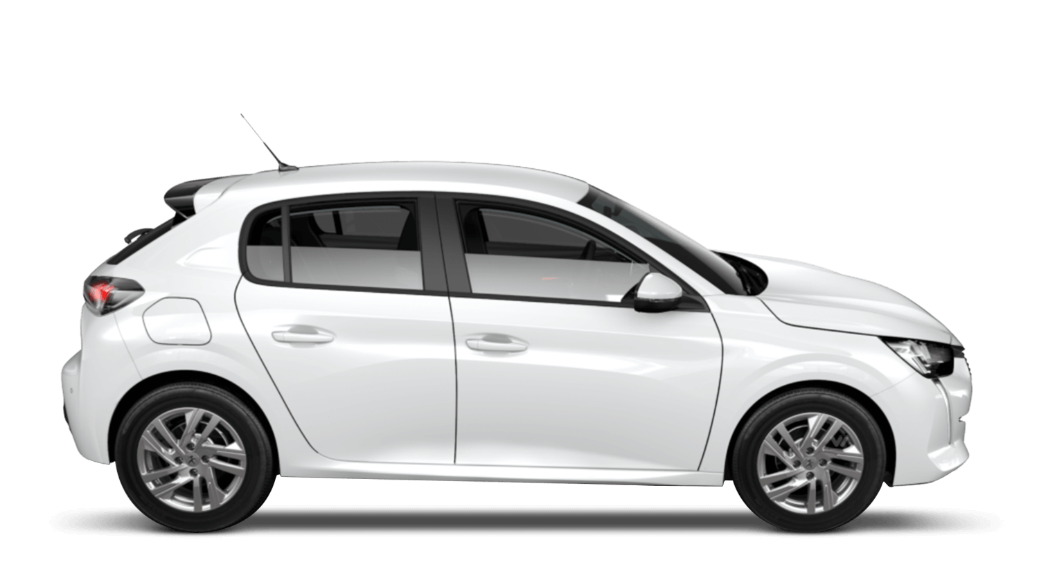 Bianca White All-new Peugeot 208