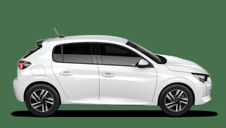 Bianca White All-new Peugeot 208
