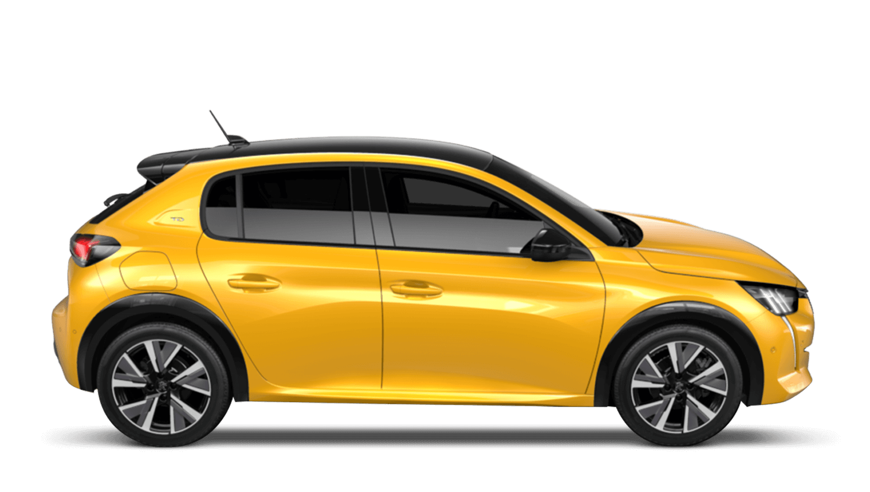 Faro Yellow All-new Peugeot 208