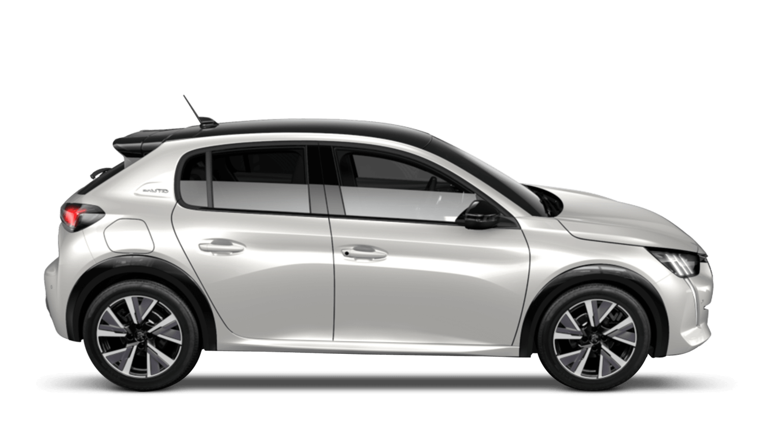 Pearlescent White All-new Peugeot 208