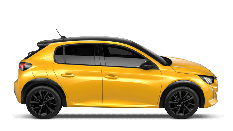 Faro Yellow Peugeot 208