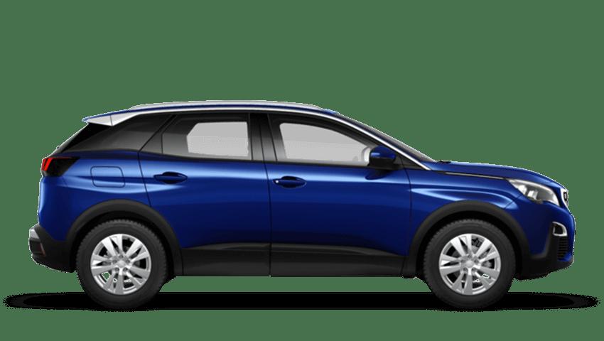 Magnetic Blue Peugeot 3008 SUV