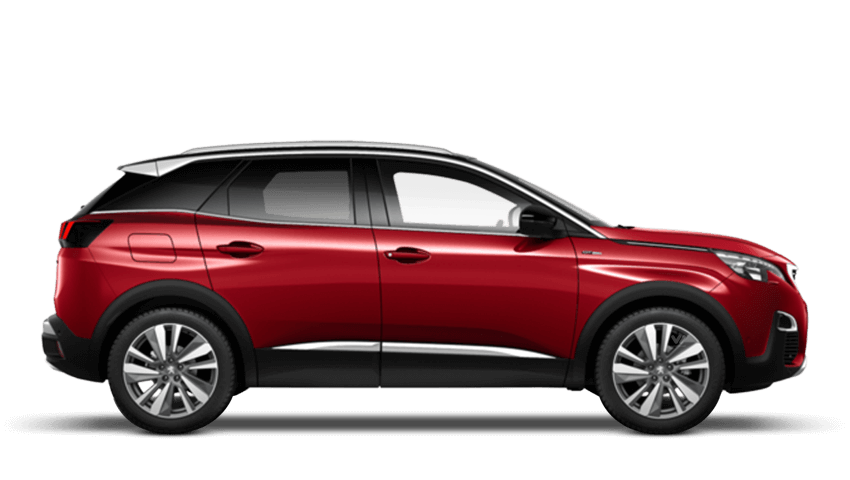Ultimate Red Peugeot 3008 SUV