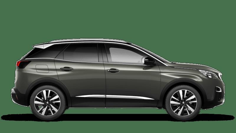 Amazonite Grey Peugeot 3008 Suv Hybrid