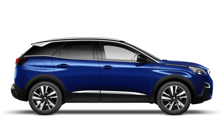 Magnetic Blue Peugeot 3008 SUV Hybrid
