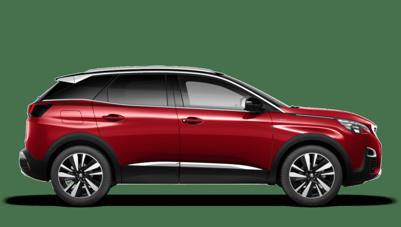 Ultimate Red Peugeot 3008 SUV Hybrid