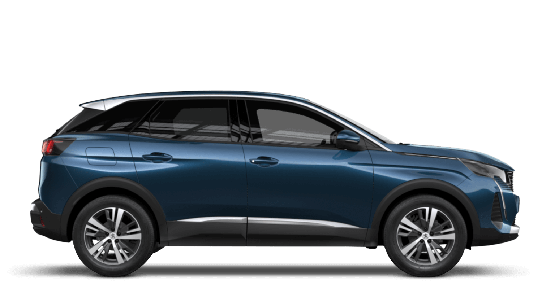Celebes Blue New Peugeot 3008 SUV Hybrid