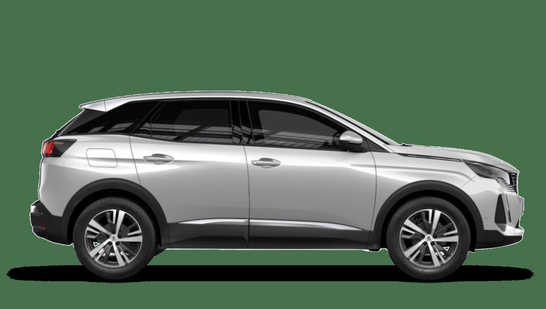 Pearlescent White New Peugeot 3008 SUV Hybrid