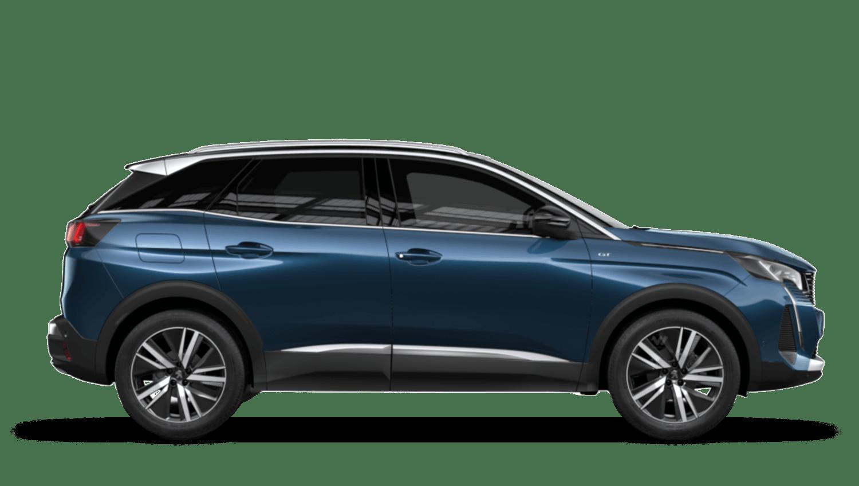 Celebes Blue New Peugeot 3008 Hybrid