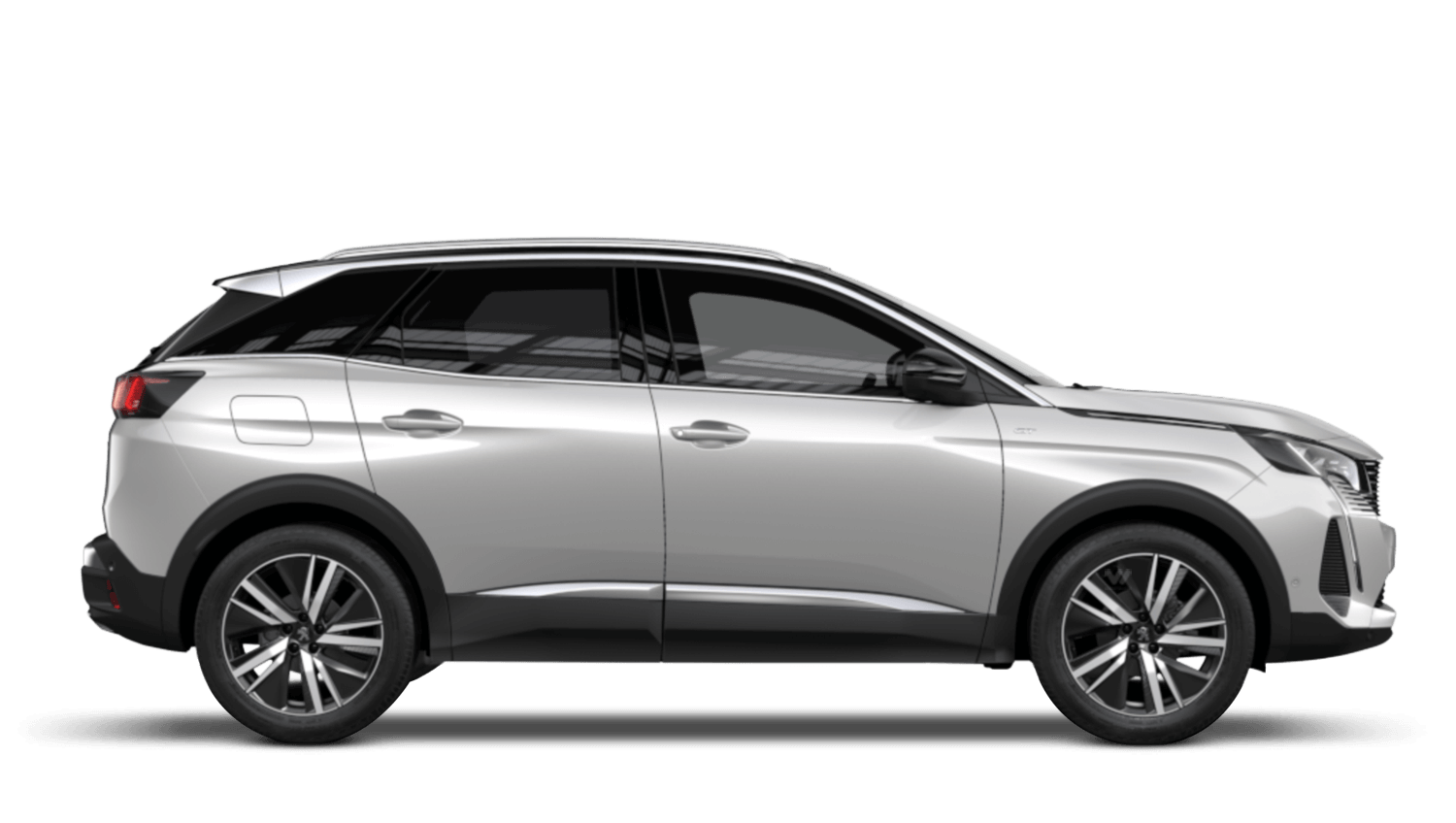 Pearlescent White New Peugeot 3008 SUV Hybrid