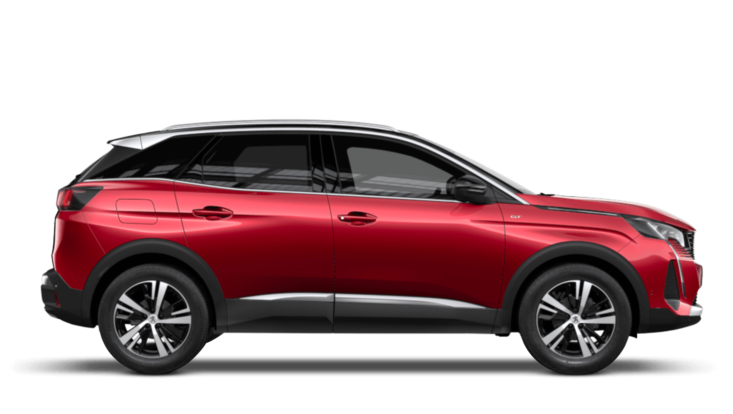 Ultimate Red New Peugeot 3008 SUV Hybrid