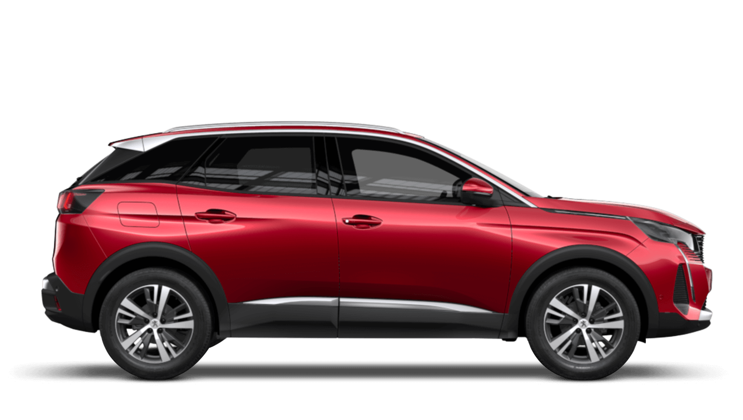 Ultimate Red New Peugeot 3008 Hybrid