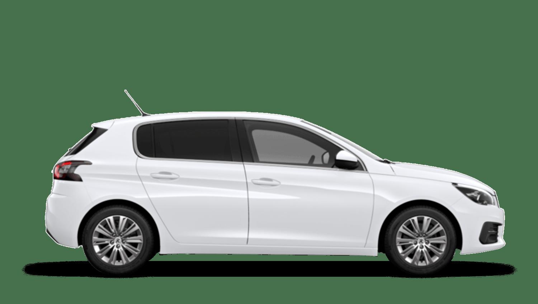 Bianca White Peugeot 308
