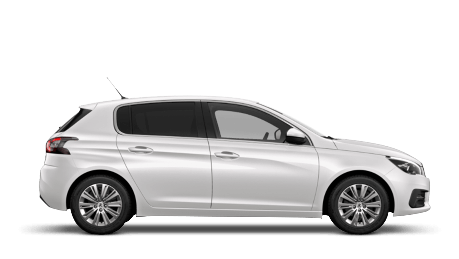 Pearlescent White Peugeot 308
