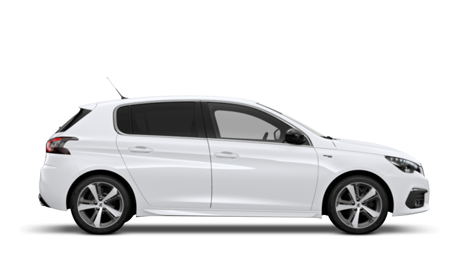 Bianca White New Peugeot 308
