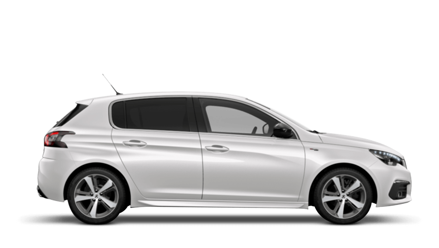 Pearlescent White New Peugeot 308