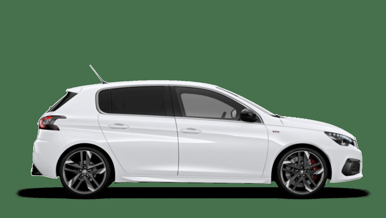 Bianca White New Peugeot 308