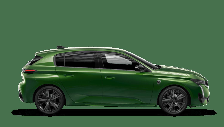 Olivine Green New Peugeot 308