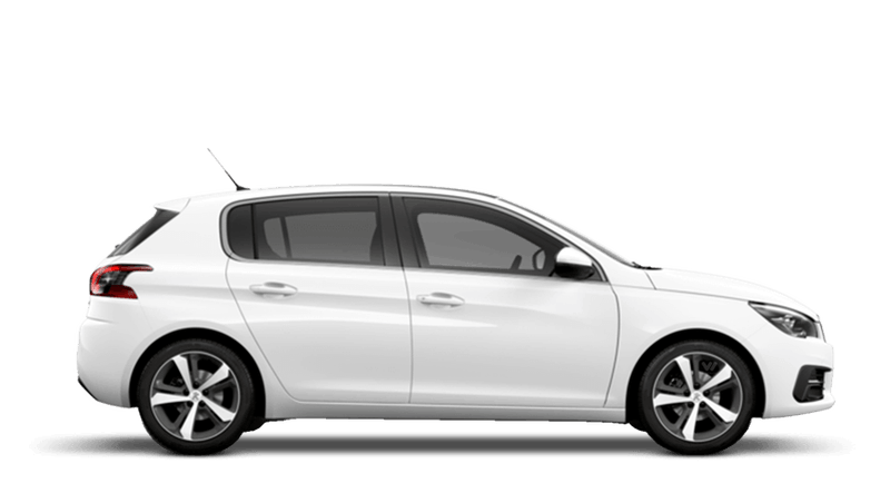 Bianca White Peugeot 308 5 Door