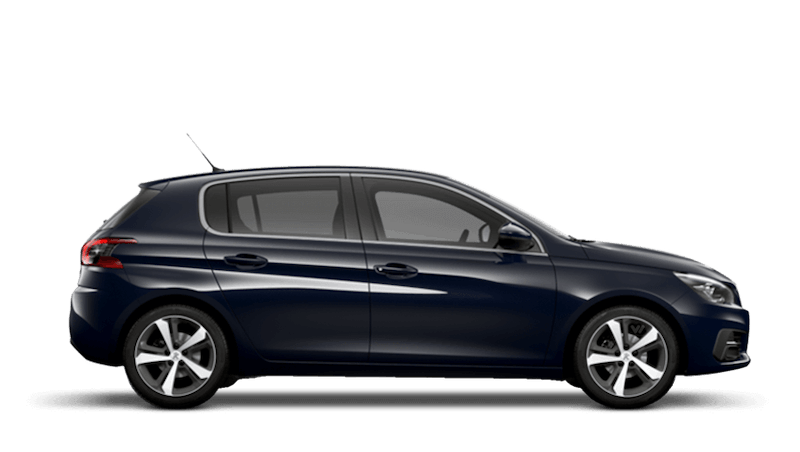 Twilight Blue Peugeot 308 5 Door