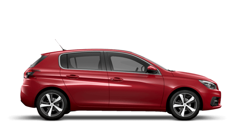 Ultimate Red Peugeot 308 5 Door