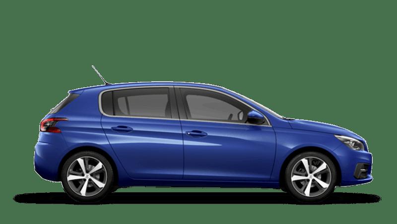 Magnetic Blue Peugeot 308