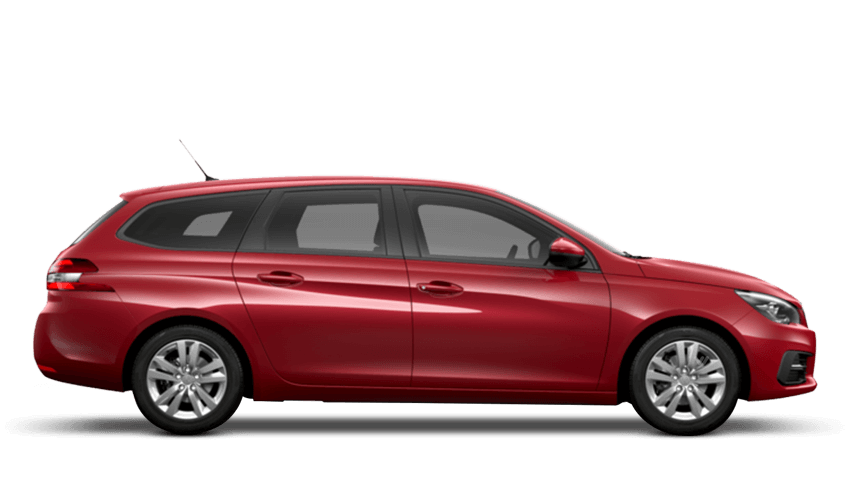 Ultimate Red Peugeot 308 SW