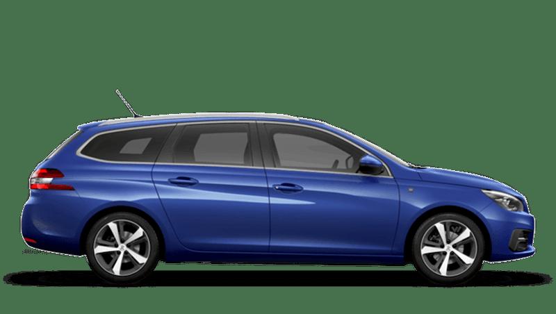 Magnetic Blue Peugeot 308 Sw