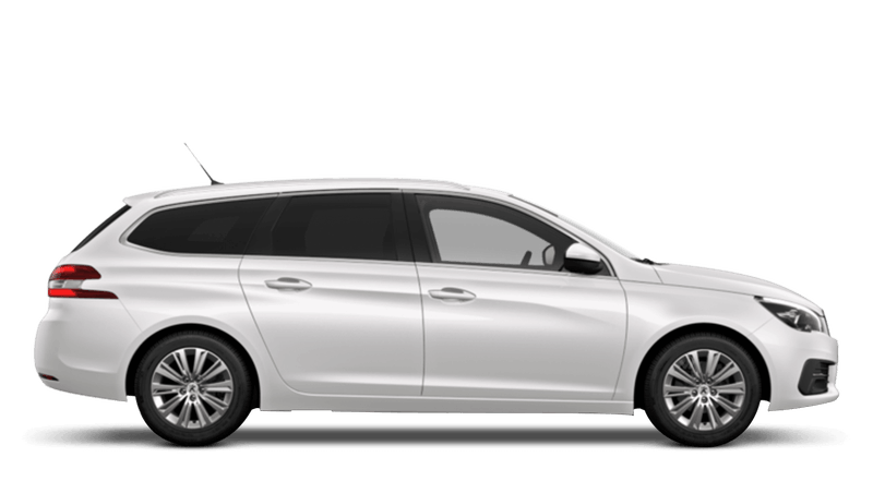 Pearlescent White New Peugeot 308 SW