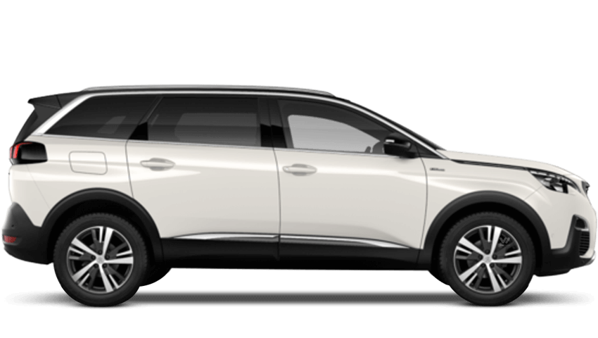 Pearlescent White Peugeot 5008 SUV