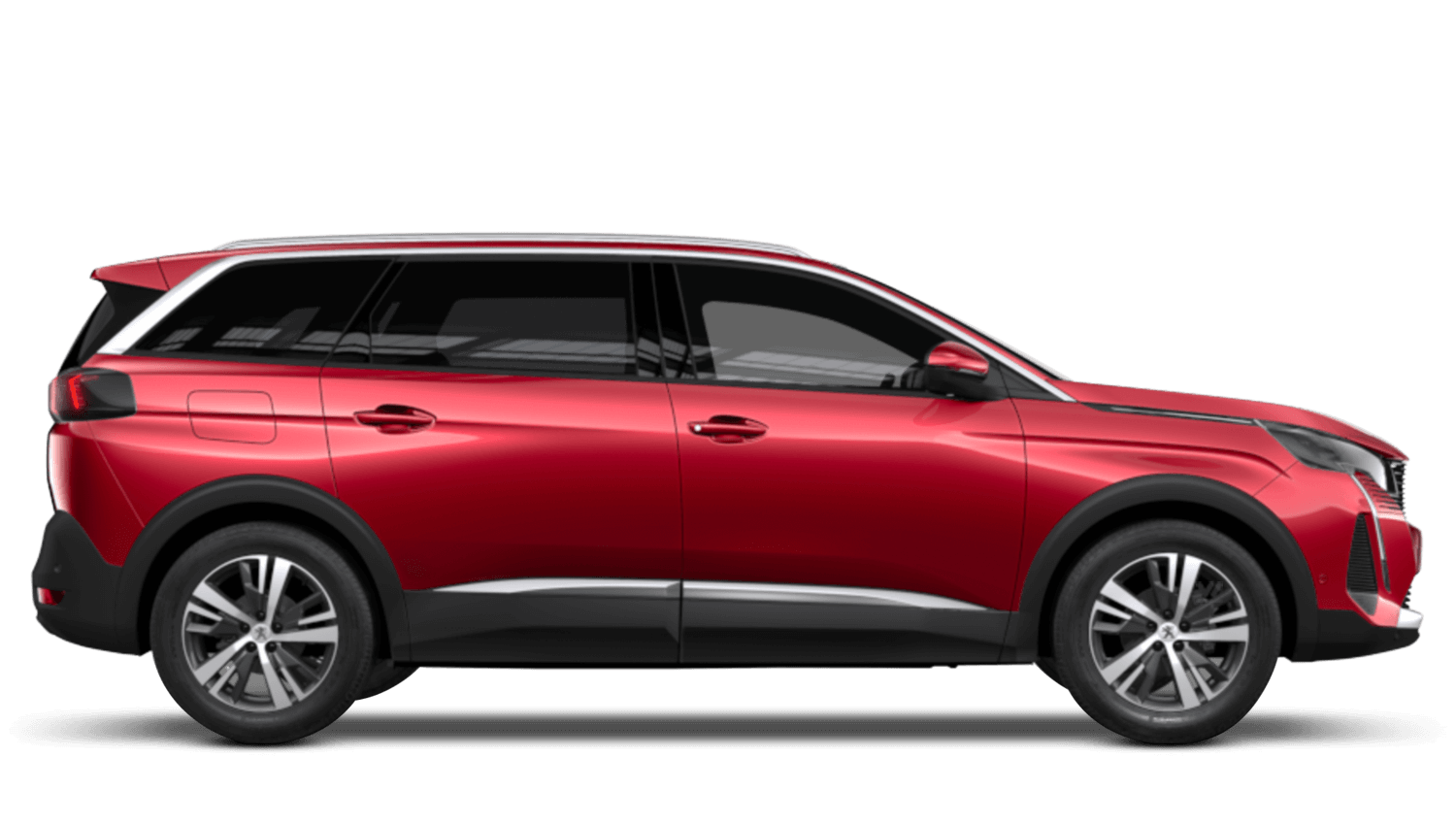 Ultimate Red New Peugeot 5008